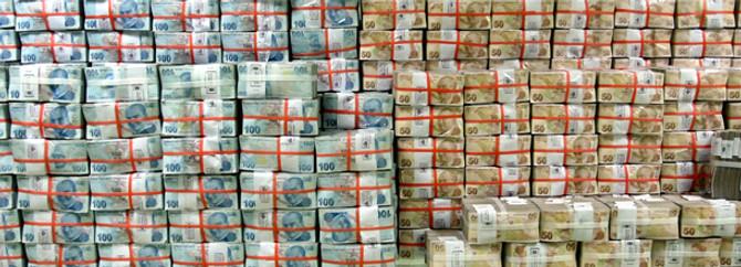 Brüt borç stoku  532.8 milyar TL oldu