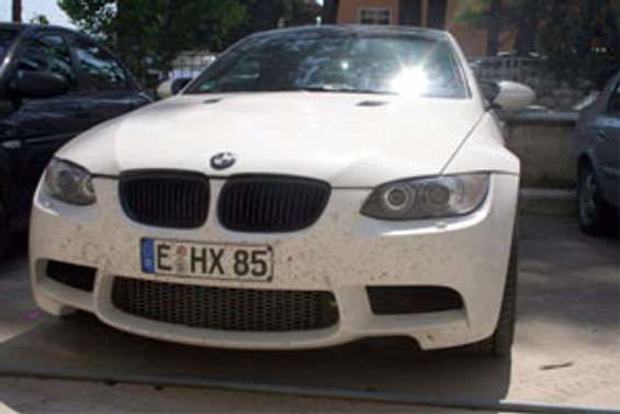 Interpol'ün aradığı araç Hatay'da bulundu