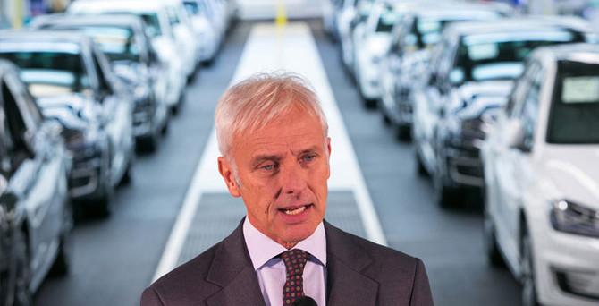 VW CEO'su Amerikalı müşterilerden özür diledi