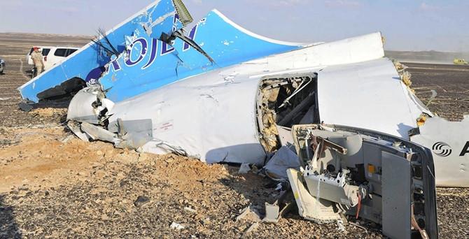 'Uçağın düşmesinde terör eylemi bulgusu yok'