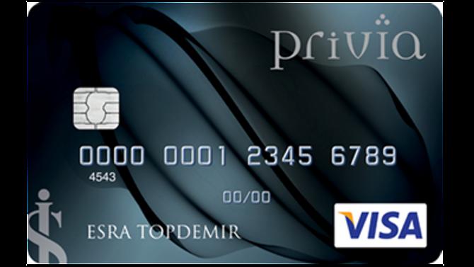 İş Bankası'ndan özel müşterilere 'Privia' kart