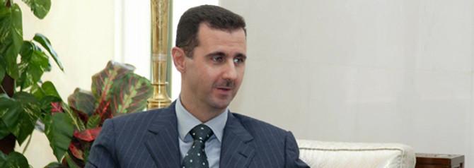 Esad, bir kez daha halka seslendi