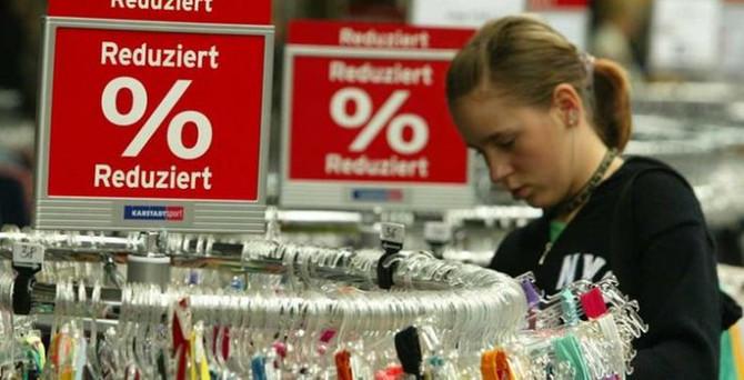 Almanya'da enflasyon yüzde 0.2 arttı