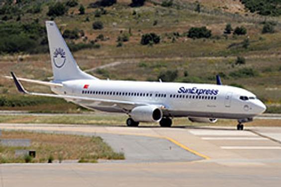 Sunexpress, Bursa'dan İzmir ve Antalya'ya uçacak