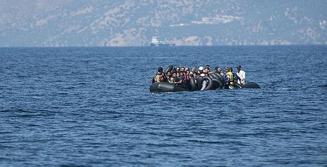 Çeşme'de 152 Suriyeli kurtarıldı