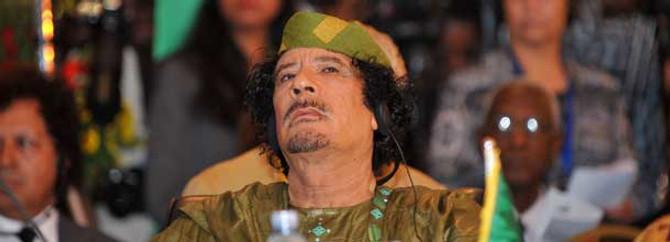 Kaddafi öldürüldü