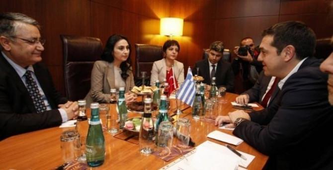 Çipras HDP heyetiyle görüştü