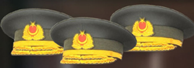 83 generale şeref madalyası verildi