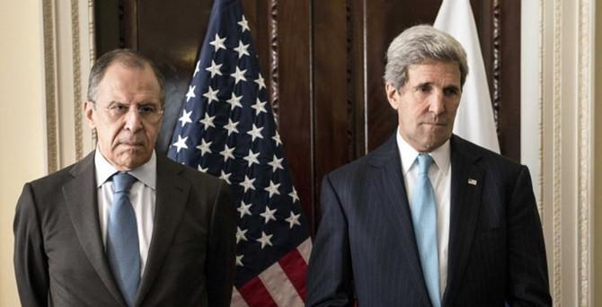 Kerry'den Lavrov ile görüştü
