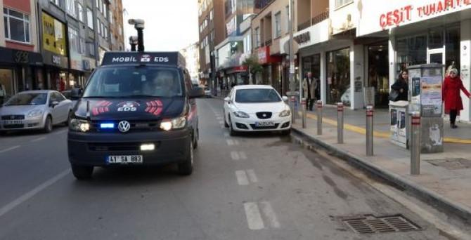 'Mobil EDS' ile 2 yılda 1 milyon lira ceza kesildi