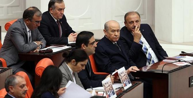 Meclis'te  hükümet programı görüşüldü