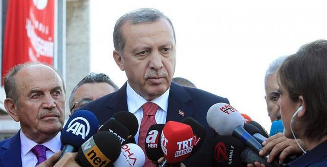 Erdoğan'dan Elçi ailesine başsağlığı