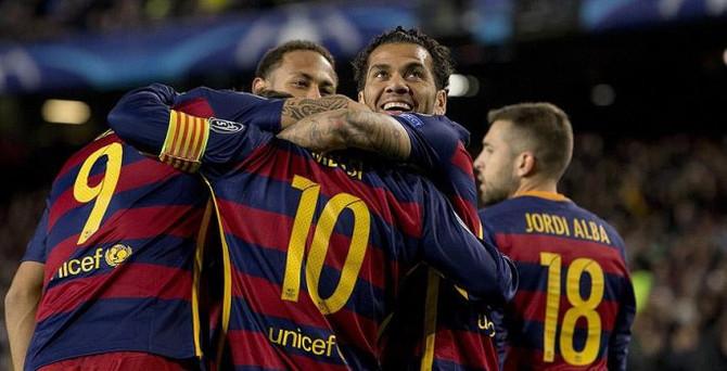 Barcelona'dan yine 4'lük tarife
