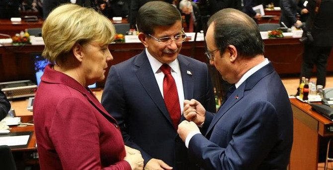 AB-Türkiye Zirvesi başladı