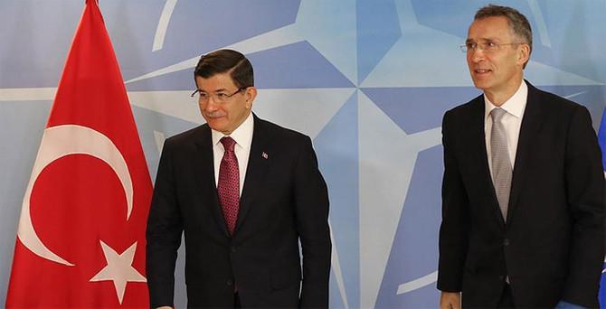 Davutoğlu, NATO Genel Sekreteri ile görüştü