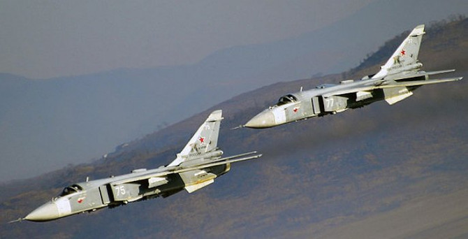 'Rus uçakları füzelerle donatıldı'