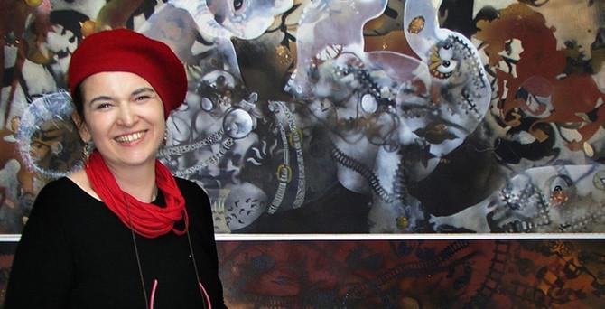 Dilşan Balkancı'nın 'Türkçe Resmi' sergisi