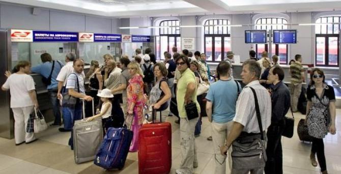 Turist sayısında büyük düşüş