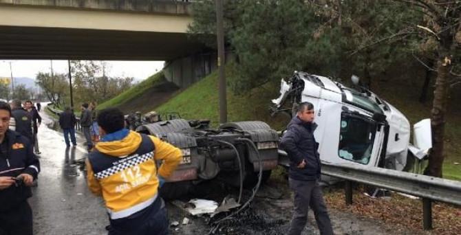 TEM'de kaza: 28 yaralı