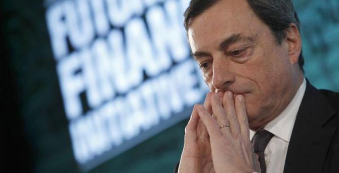 Draghi: ABD ile zıt yönde ilerleyeceğiz