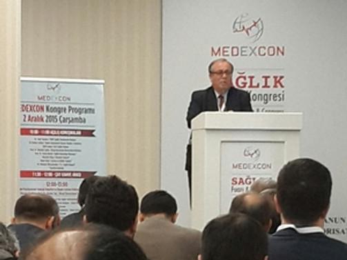 Medexcon 2015 Sağlık Fuarı kapılarını açtı