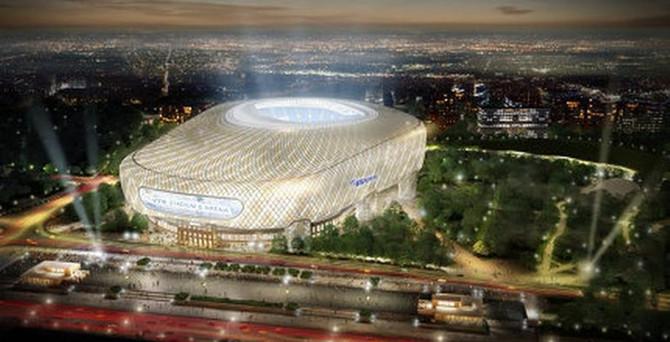 Dev stadyum altyapı projesi iptal edildi
