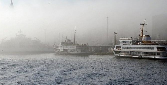 Marmara'ya sis uyarısı