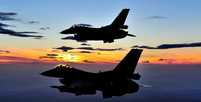 TSK'dan Kuzey Irak'ta hava operasyonu