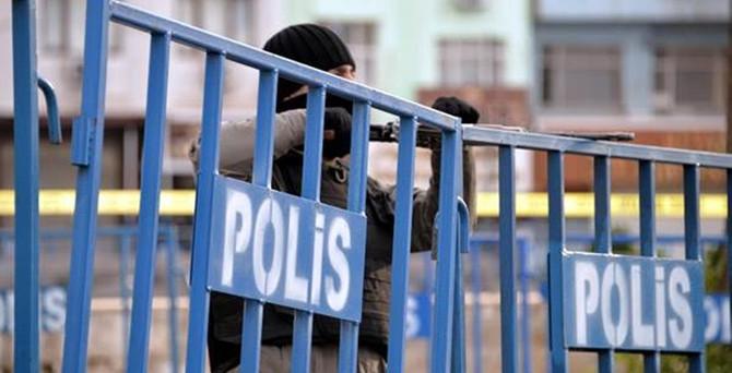 Sur'da çatışma: 1 polis yaralı
