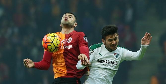 Galatasaray Denizli ile farklı kazandı