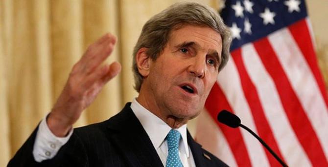 Kerry: Esad ile işbirliği yapılabilir