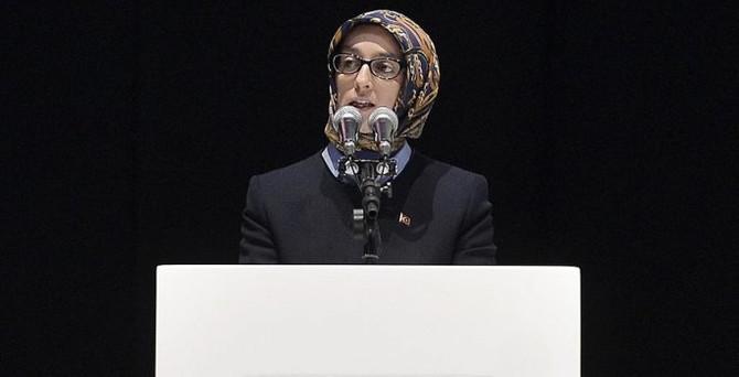 AK Parti Kadın Kolları Başkanlığına Çam seçildi