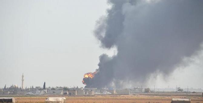 Suriye'de ikinci saldırısını gerçekleştirdi