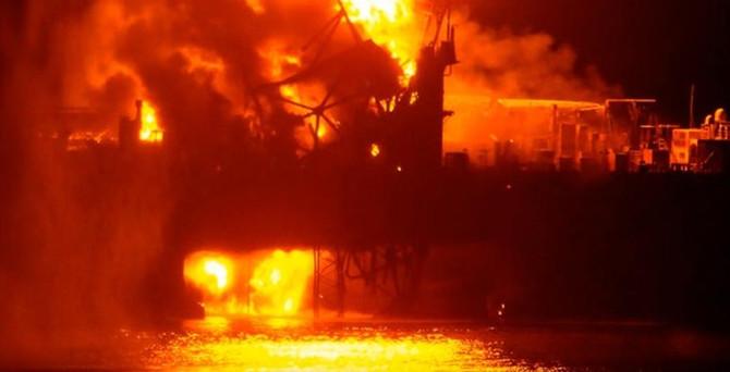 33 kişi kurtarıldı 29 kayıp petrolcü aranıyor