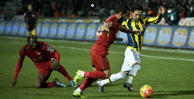 Fenerbahçe Antep'te liderliği bıraktı