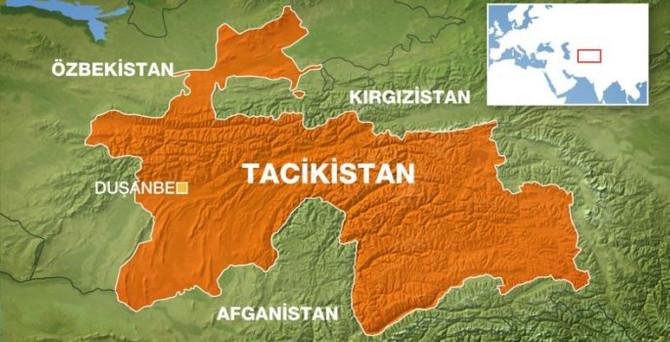 Tacikistan'da 7.2 büyüklüğünde deprem