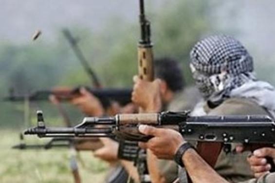Teröristlerden güvenlik güçlerine saldırı