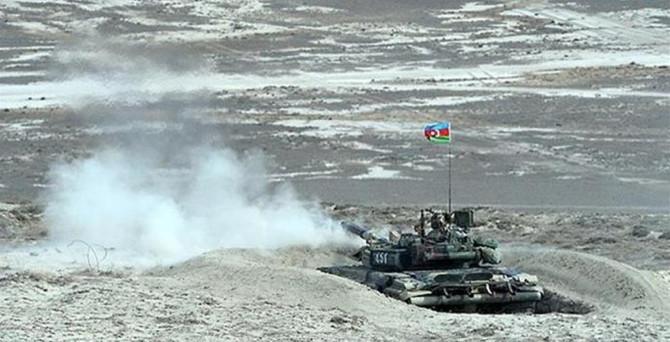 Ermenistan'ın zırhlı aracı imha edildi