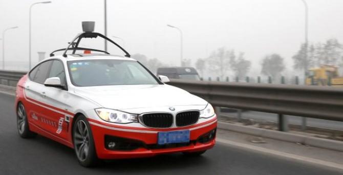 Çin'in Google'ı sürücüsüz araç üretti