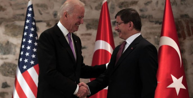 Davutoğlu, Biden ile Musul'u görüştü