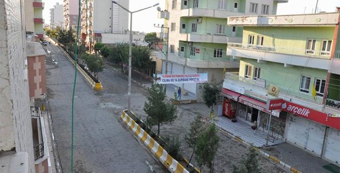 Dargeçit'te sokağa çıkma yasağı