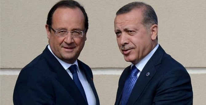 Erdoğan, Hollande ile görüştü