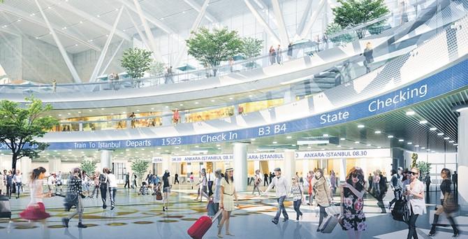 700 milyonluk Ankara Hızlı Tren Garı mayısta açılıyor