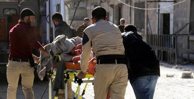 Rus uçakları Halep'i bombaladı: 41 ölü