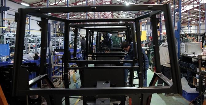 Dünyaca ünlü traktör markasının kabinleri Eskişehir'den