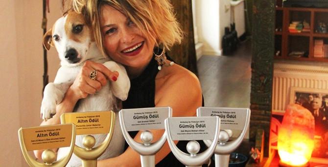 Umay Çubukçu 'ambalaj tasarım' Oscarlarını topladı