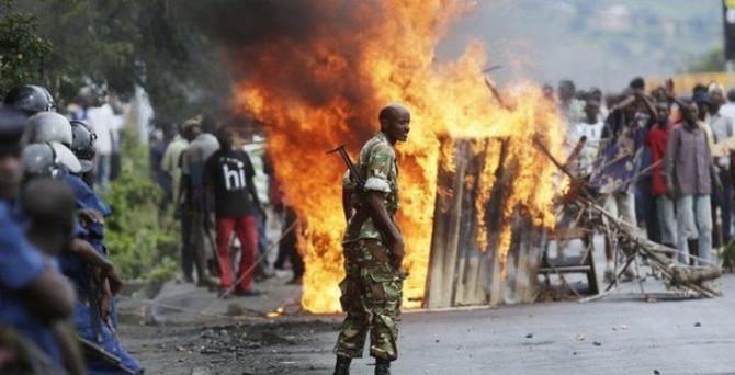 """ABD'den vatandaşlarına """"Burundi' çağrısı"""