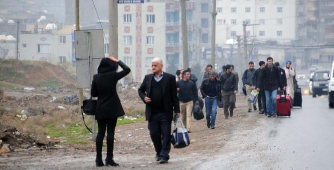 Öğretmenler, Cizre ve Silopi'den ayrılıyor