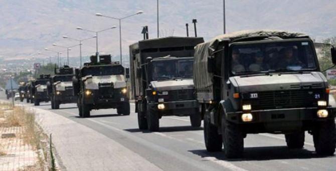 Türk askerlerinin bir bölümü ayrıldı