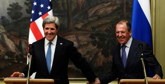 ABD Dışişleri Bakanı Kerry Moskova'da